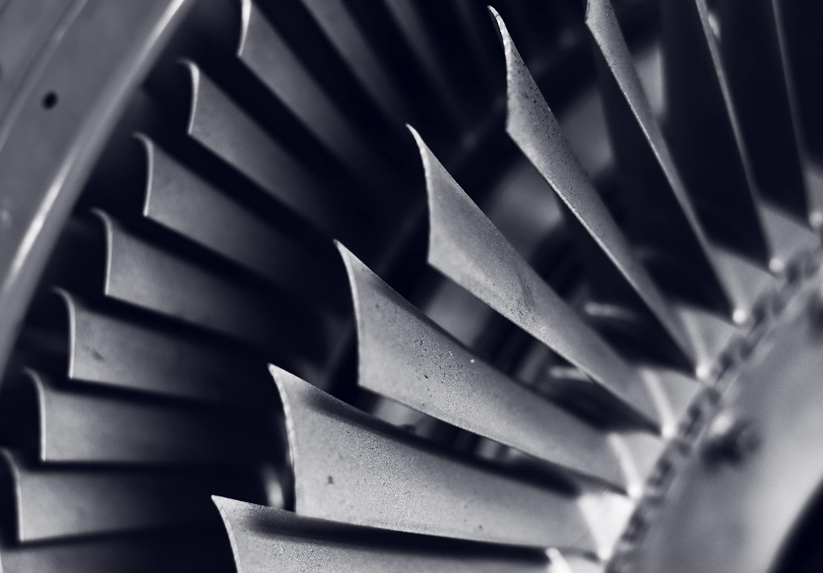 Circular Metal Blades Graphic