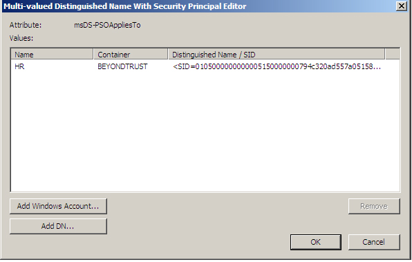 How To Manage Active Directory Password Policies in Windows