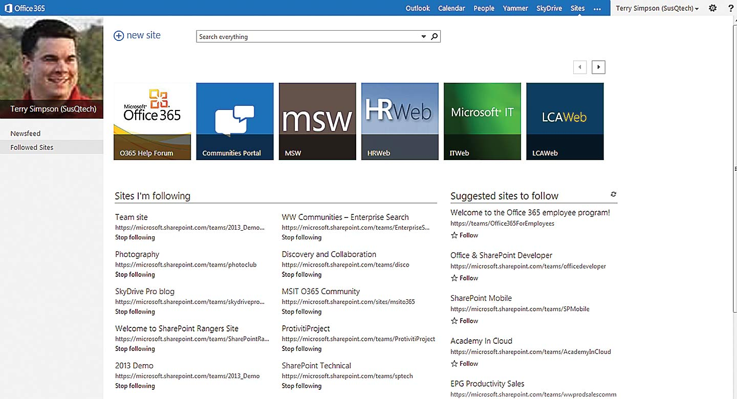 best sharepoint sites