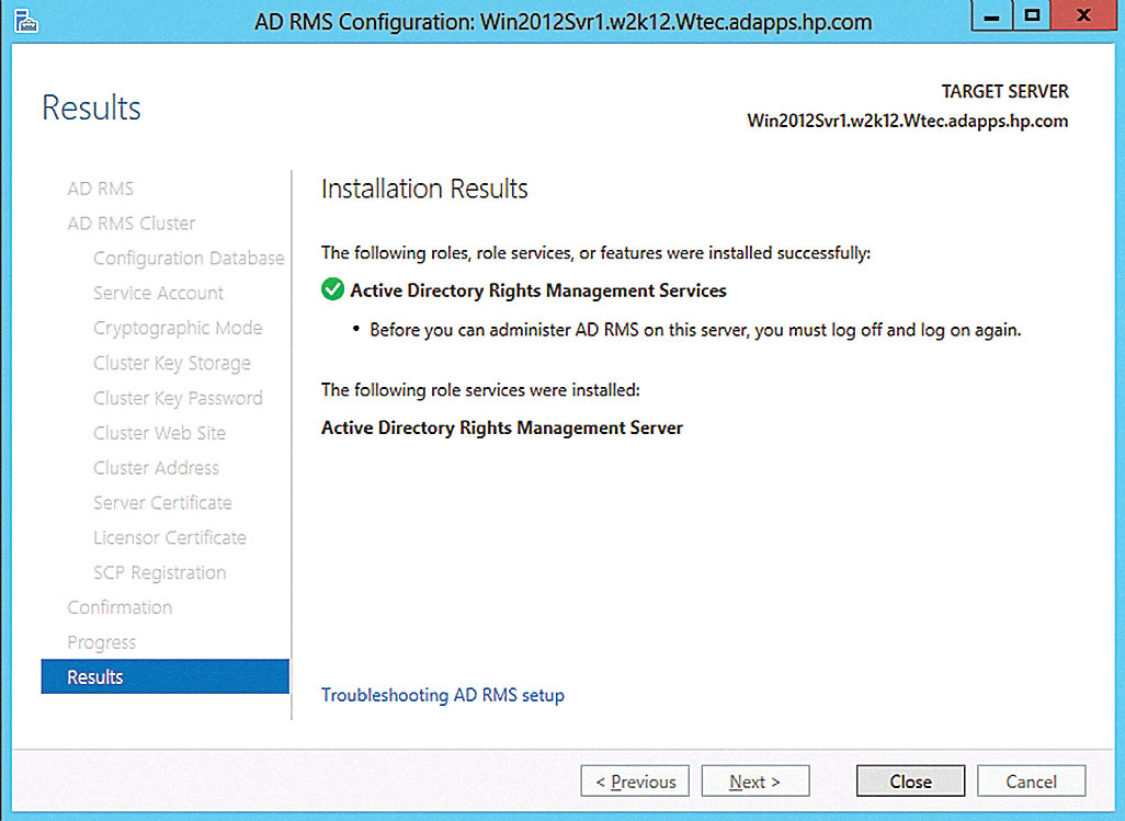 Secure Files in Windows Server 2012 with Active Directory