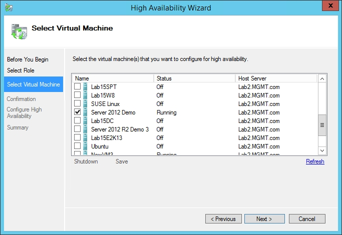 How to Make Hyper-V Virtual Machines Highly Available