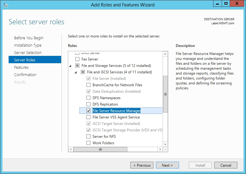 How To Use the File Server Resource Manager in Windows