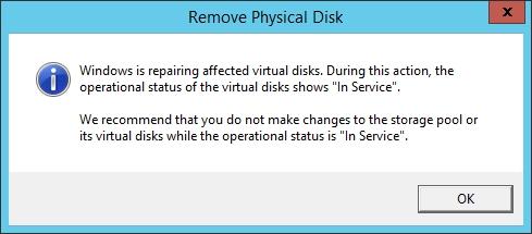 Using PowerShell To Rebuild a Windows Storage Spaces Array