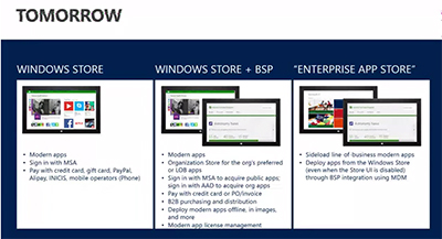 Windows Store Path