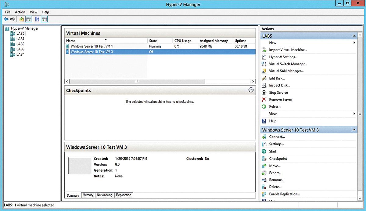 First Look: Hyper-V Server Technical Preview -- Redmondmag com