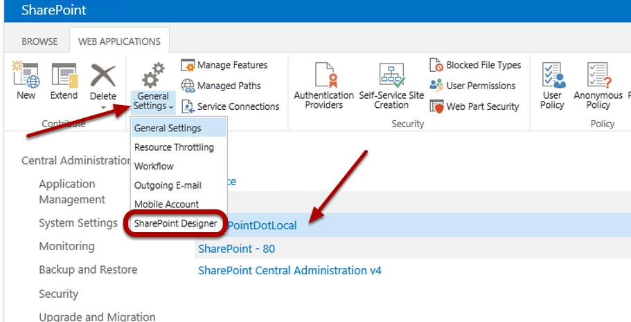 Office 365 Sharepoint Designer Controlling Access To The Sharepoint Designer Tool  Redmondmag