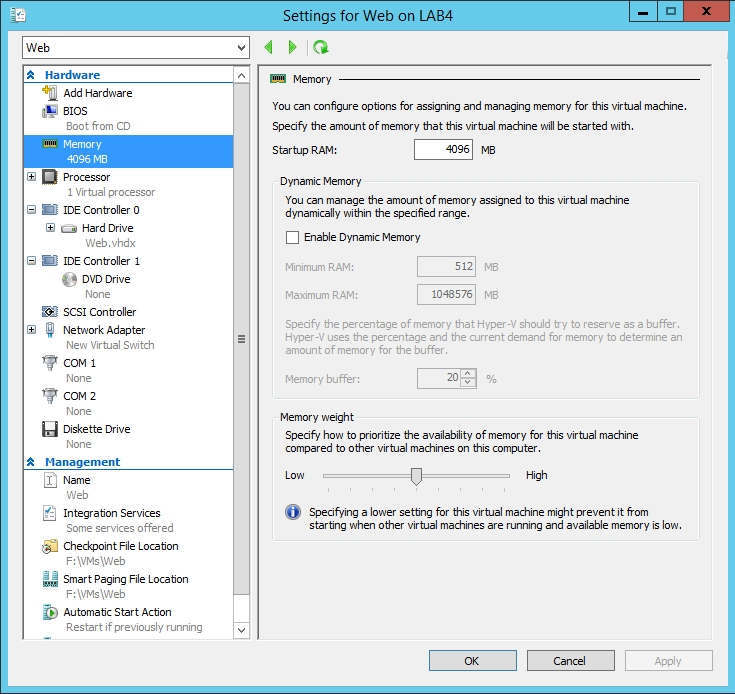 How To Use Smart Paging in Hyper-V -- Redmondmag com