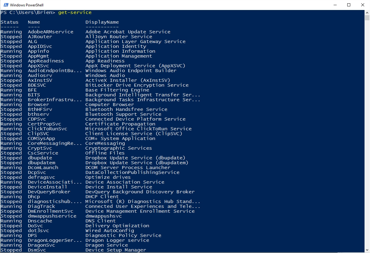 How To Use PowerShell To Manage System Services