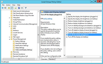 group policy lock screen