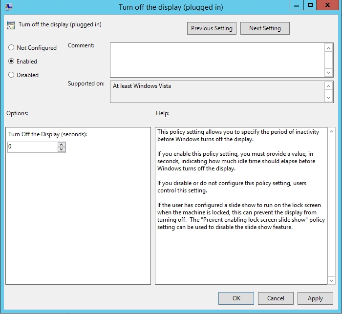 How To Disable Windows Server's Auto Lock Feature