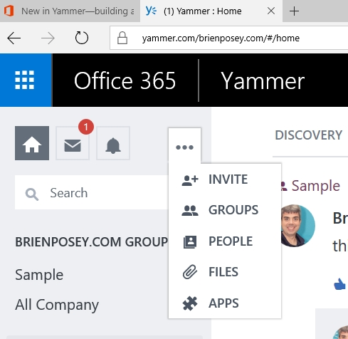 Yammer finally grows up - Yammer office 365 integration ...