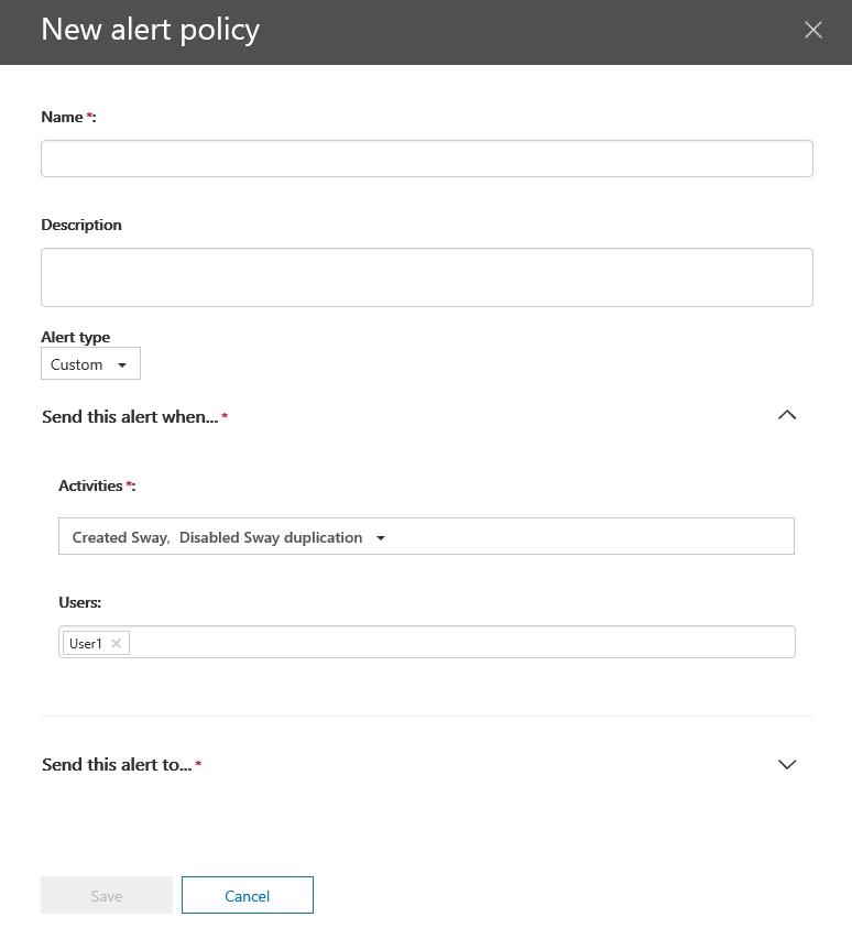 How To Create Alert Policies in Office 365 -- Redmondmag com