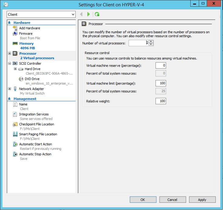 How To Improve the Performance of Windows 10 in a Hyper-V VM