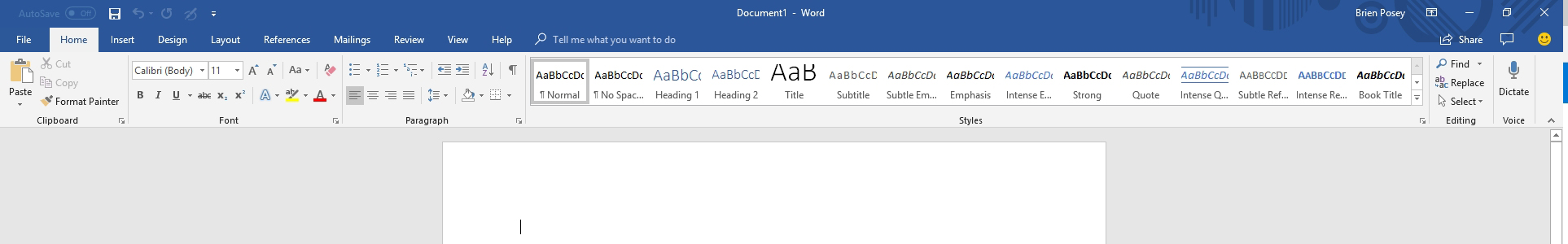 Taking a Fresh Look at Dictation in Microsoft Office