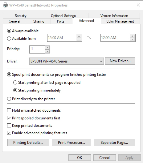 How To Take Control of Network Printing in Windows 10
