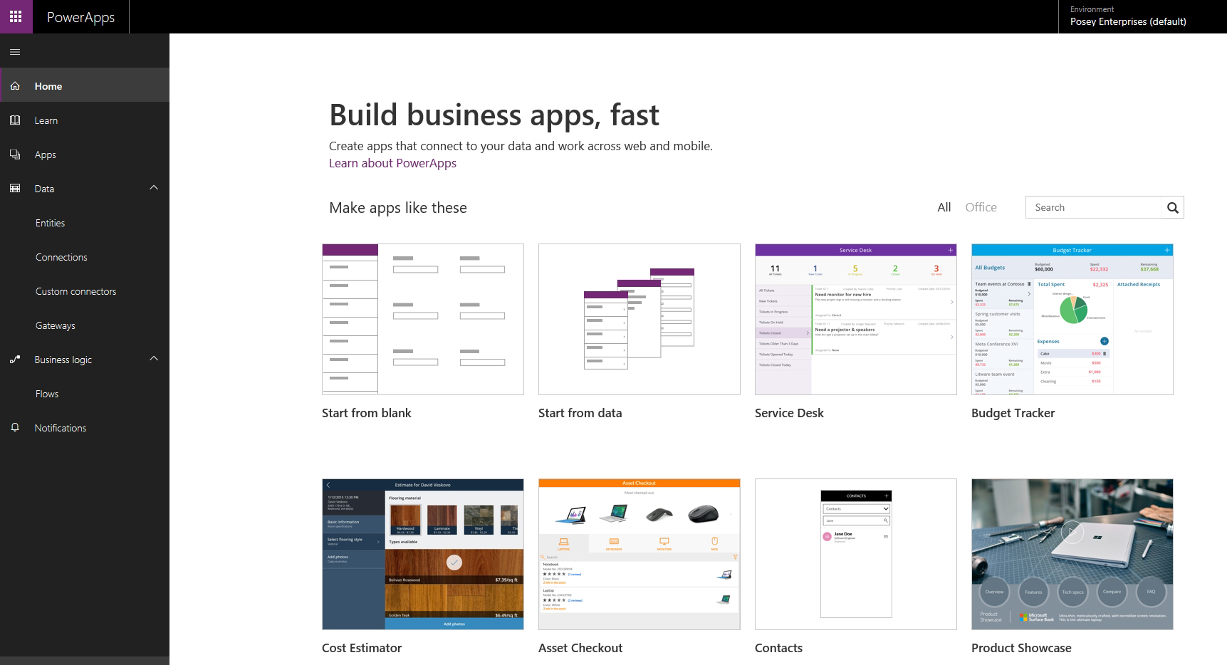 Getting Started with PowerApps in Office 365 -- Redmondmag com