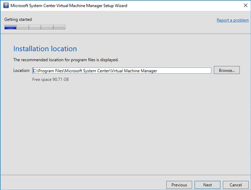 Upgrading to System Center Virtual Machine Manager Version 1807