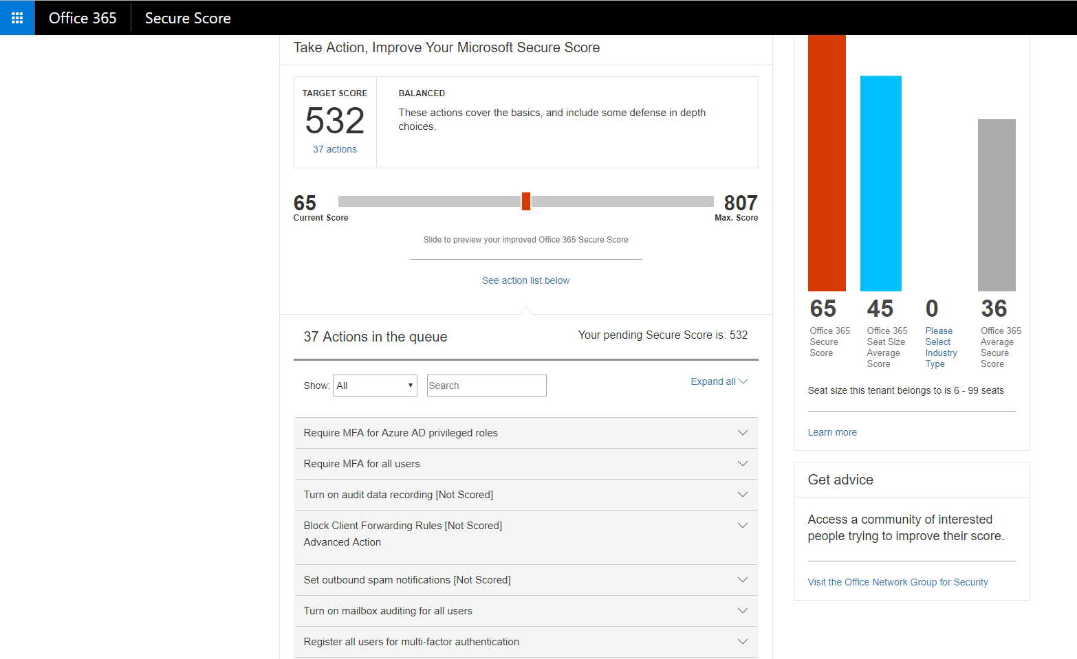 How To Grade Your Organization's Office 365 Security Level