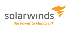 Logo: solarwinds - The Power to Manage IT