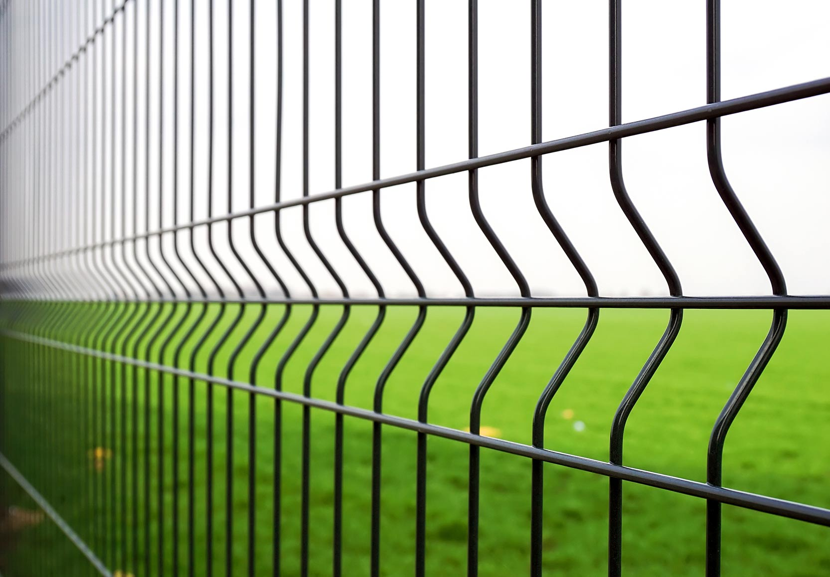 Gray Fence Graphic