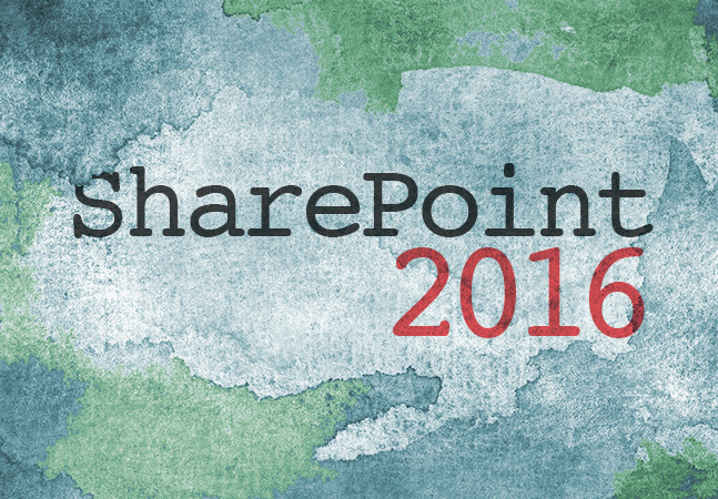 SharePoint Server 2016 Beta 2: Features and step by step setup ...